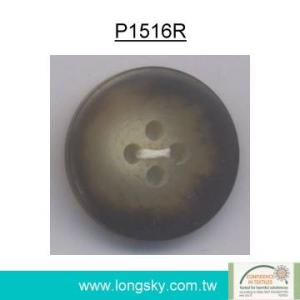 Rod Polyester Resin Button for Overcoat (P1516R)