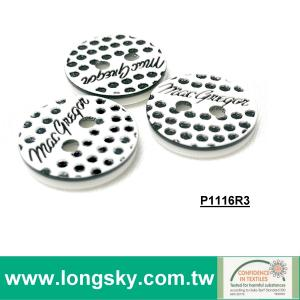 (#P1116CR3) customized personalized brouse and shirt buttons for brand designer