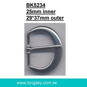 U-shaped belt buckle with prong (#BK5234/25mm inner)