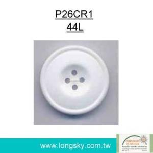 (#P26CR1) Fashion decorative resinic plastic button for cushions