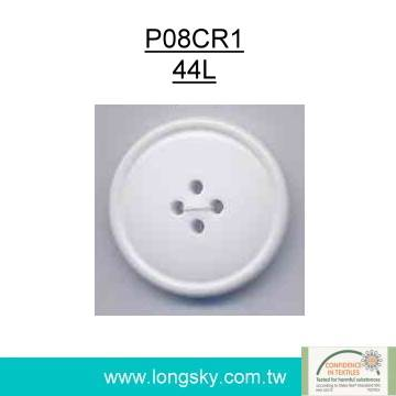 (#P08CR1) oeko-tex 44L round big button for garments