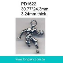 Basketball player pendant (#PD1622)