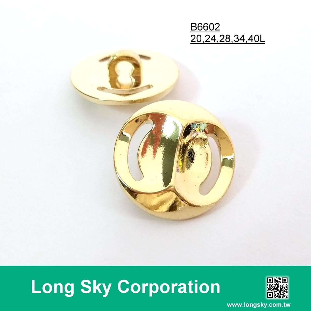 2018 gold plated shank back buttons for garments, B66-1_1