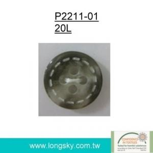 Popular Rod Polyester Resin Button (#P2211-01)
