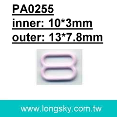 (PA0255/10mm) 10mm Metal Bra Strap Adjuster