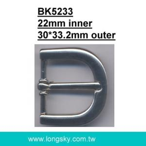 fashion metal U-shaped belt buckle (#BK5233/22mm inner)