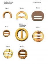 Wooden buckles for belts (#BK14-3)