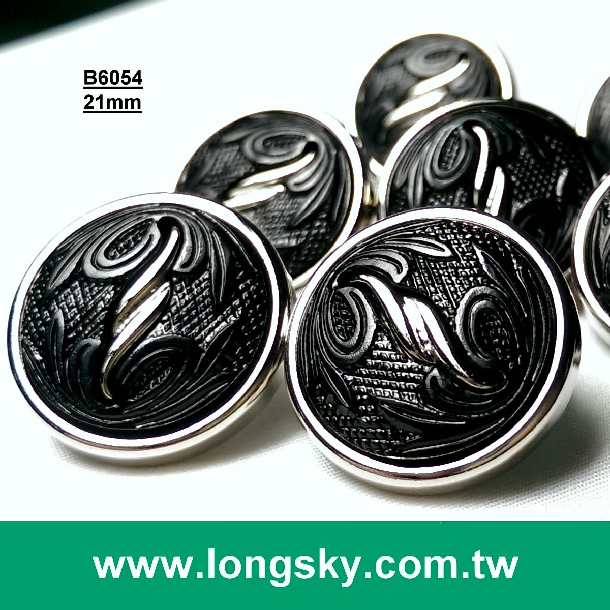(#B6054/34L) Taiwan High Quality Fashion Combined Button Manufacturer