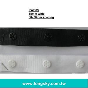 (#PWB04) snappy button closure for garments