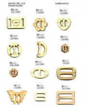 Wooden buckles for clothes (#BK14-2)