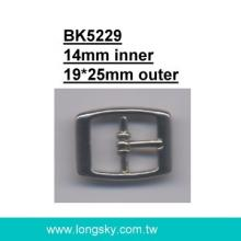 Clothing Belt Buckle (#BK5229-14mm)