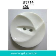 (#B3714/40L) Fashion big nylon dyeable button for overcoats