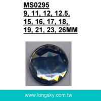 (#MS0295) High quality acrylic rhinestone shank button