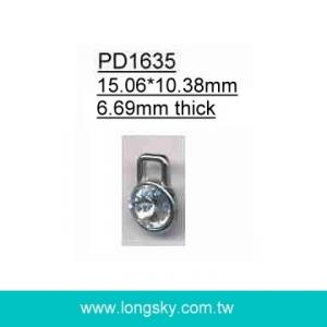 Rhinestone charm puller for zipper or garments (#PD1635)