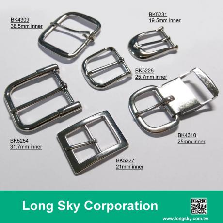 Classical metal prong belt buckles apparel accessory