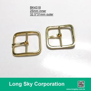 (#BK4318) 25mm inner metal buckle for lady belt